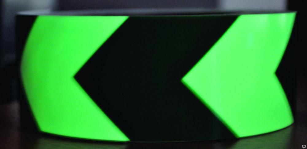 Самоклеящаяся разметочная фотолюминесцентная лента Ёлочка цена