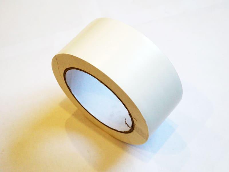 ПВХ лента разметочная, самоклеющаяся 50мм на 33м, цвет белый (040108) цена