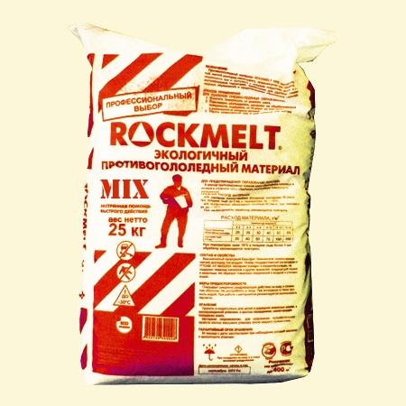 Противогололедный реагент ROCKMELT MIX (антиобледенительный реагент) цена